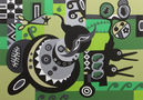 Аномалії №2, 2011, полотно, акрил, 140х100
