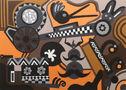 Аномалії №1, 2011, полотно, акрил, 140х100
