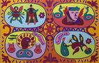 Вони, із циклу Sanatorium, диптих, 2011, полотно, акрил, 200х130