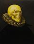 Портрет чоловіка з черепом , 2009, полотно, олія