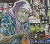 Бабуся і пиво, 2010, полотно, олія, 71х81