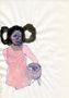 Влада Ралко, із серії Дівчата, 2011, папір, кулькова ручка, акварель, 30х20
