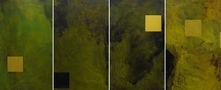 Four seasons, поліптих, 2011, полотно, акрил, олія, 120х70 кожна