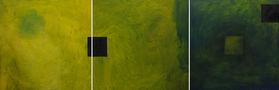Переміщення, триптих, 2011, полотно, олія, 100х100 кожна