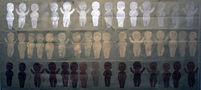 Альбіна Ялоза, Множинність, 2010, папір, авторська техніка