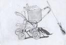 Світлана Струк, Без назви, 2010, папір, олівець