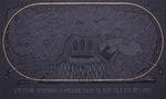 Бурю пускають чорнокнижники, їх найважнішою задачею єсть робити град та вести вітри і хмари, 2014, полотно, акрил, вишивка