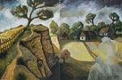 Галицький пейзаж, 2010, полотно, олія, лінорит, 103х147
