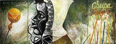 Чупа-чупс, 2008, полотно, олія, лінорит, триптих