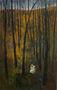 Микита Кравцов, із серії Прогулянка, Самотність. Синій м'ячик, 2009, полотно, олія, 200х126