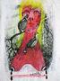 Ніна Мурашкіна, Рябчики и любовь, із серії Тваринні інстинкти, 2009, учбовий плакат, мішана техніка, 45х33