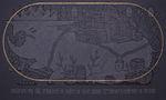 Найстарший ирод стоїть прикований на лантуху до скали відколи перемінилися камінчики на писанки, 2014, полотно, акрил, вишивка