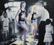 Із серії Дещо about Dance, №7, 2010, полотно, олія, 115х140