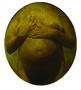 Із серії Вміст, 2008, полотно, скловолокно, олія, 65х56